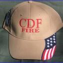 Patriotic CDF Cap